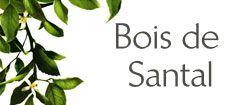 Bois de santal - Roger et Gallet