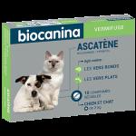 Biocanina Ascatène Vermifuge chien et chat 10 comprimés.