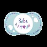 Luc et Léa Sucette 0/6 mois Physiologique Bébé d'Amour