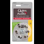 Quies Audio Piles Pour Aides Auditives N°10