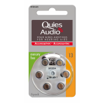 Quies Audio Piles Pour Aides Auditives N°13