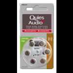 Quies Audio Piles Pour Aides Auditives N°312