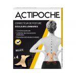 Actipoche Correcteur de Posture Douleurs Lombaires X4