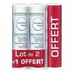 Bioderma Atoderm Stick Lèvres lot de 3 - 2 + 1OFFERT