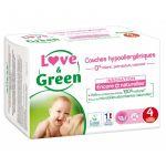 Love & Green 46 Couches Hypoallergéniques de 7 à 14 kg