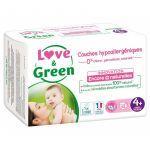 Love & Green 42 Couches Hypoallergéniques de 9 à 20 kg
