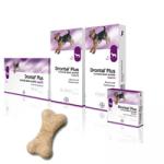Drontal P  Bone 4 comprimés vermifuges chiens arôme boeuf