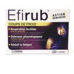 3 C Pharma Efirub Coups de Froid 30 comprimés