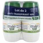 Etiaxil Anti-Transpirant Bio Végétal 48 Heures 2X50ml