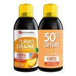 Forte Pharma Turbodraine Ananas 2x500ml 50% offert sur la 2eme bouteille