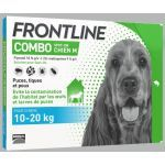 Frontline Combo Spot On Chien M 10-20 kg 4 pipettes