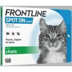 Frontline Spot On Chat 6 pipettes