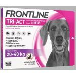 Frontline Tri-Act chiens 20-40kg 3 pipettes