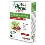 Ortis Fruits et Fibres Action Rapide 8 heures 12 comprimés