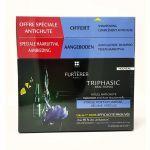 Furterer Triphasic Réactionnal 12x5ml + Triphasic Shampooing 100ml Offert