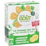 Good Goût Biscuits Bio Animaux Citron +10 mois 80g