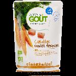 Good Goût Plat Complet Bio Dès 6 mois-Carotte Poulet Fermier