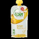 Good Goût Purée de Fruits Bio Dès 4 mois 120g-Banane