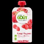 Good Goût Purée de Fruits Bio Dès 4 mois 120g-Pomme Framboise
