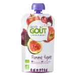 Good Goût Purée de Fruits Bio Dès 4 mois 120g-Pomme Figue