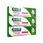 G.U.M Paroex Gel Dentifrice 3X75ml