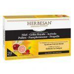 Herbesan 20 Ampoules Système Immunitaire et Fatigue
