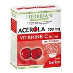 Herbesan Acérola 1000mg Vitamine C 180mg Effervescent X30