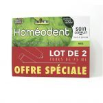 Homéodent Soin Complet Dents Gencives Anis 2x75ml