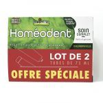 Homéodent Soin Complet Dents Gencives Chlorophylle 2x75ml