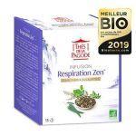Thés de la Pagode Infusion Respiration Zen Bio 18 sachets