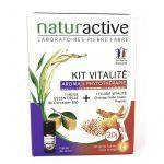 Naturactive Kit Vitalité Huile essentielle Bio de Citronnier + 20 Sticks Vitalité