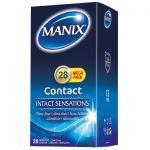 Manix Contact Préservatifs X28