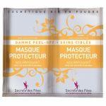 Secrets des Fées Masque Protecteur Peel Off Bio 8gX2