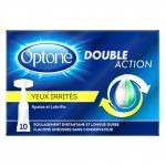 Optone Double Action Yeux Irrités UnidosesX10