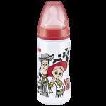 Nuk Bibberon Toy Story 6-18 Mois Rouge 300ml