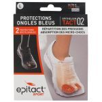 Epitact Sport Protections Ongles bleus Taille L 2 pièces