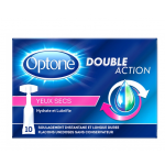 Optone Double Action Yeux Secs Flacons X10