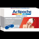 Actipoche Chaud-Froid Coussin Thermique pour Yeux et Tempes