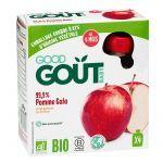 Good Goût 4 Gourdes Bio Pomme-Gala +4 mois 4X85g