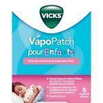 VapoPatch pour enfants - 5 patchs moins cher| Vicks