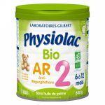 Physiolac Bio AR 2 6 à 12 mois 800g