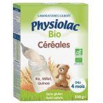 Physiolac Bio Céréales Nature 200g