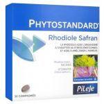 Pileje Phytostandard de Rhodiole et de Safran 30 comprimés