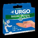 Urgo Brûlures et blessures superficielles 4 pansements grand format