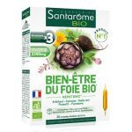 Santarome Bio Bien-être du Foie Bio 20 ampoulesX10ml