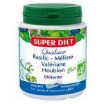 Super Diet Quatuor Détente Bio 150 gélules
