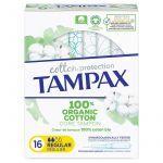 Tampax Cotton Protection Tampon Protection Régulier X16