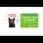 Clément Thékan Strantel Vermifuge Chat 4 cp