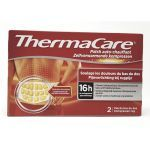 Thermacare 2 Patchs Auto Chauffant Bas du Dos