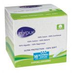 Unyque Tampon 100% Coton Normal avec Applicateur X16